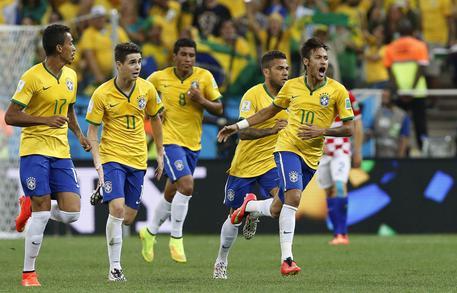 La Croazia prima vittima del Mondiale, tre gol del Brasile