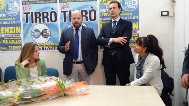 Tivoli, questa sera la conferenza stampa di Tirrò (Ncd)