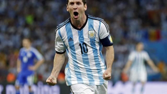 Un solo lampo di Messi, all'Argentina basta così