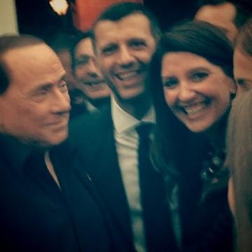 """I complimenti di Silvio Berlusconi alla """"grande Guidonia Montecelio"""""""