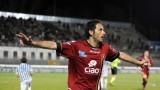 Il calciatore Di Michele torna a casa