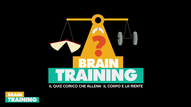 "SECONDA PUNTATA DI ""BRAIN TRAINING"""