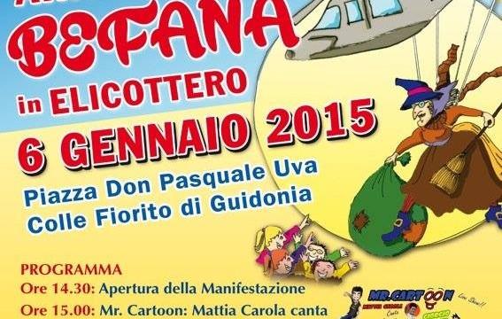 Come da tradizione 6 gennaio ricco di eventi a Guidonia Montecelio