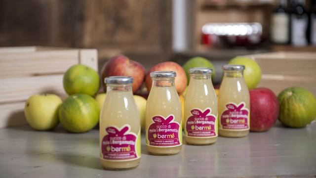 Bermé è il nuovo succo di bergamotto di Calabria e di mela della Val di Non puro al 100%