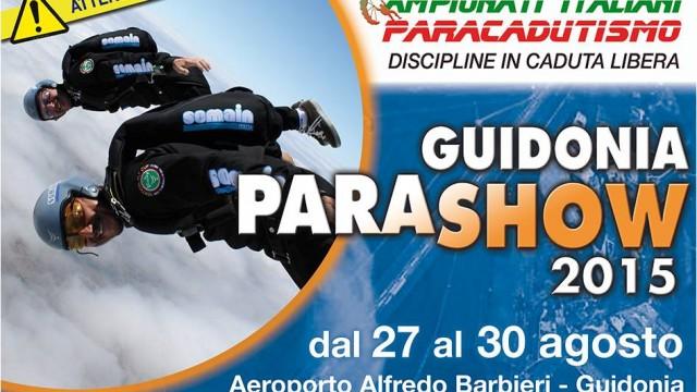GUIDONIA PARASHOW…Campionati Italiani di paracadutismo