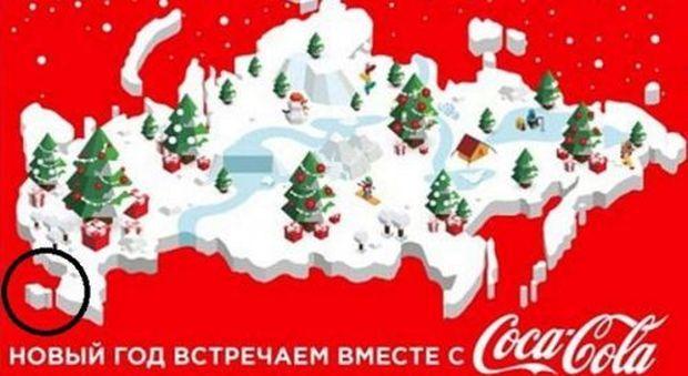 Gli auguri della discordia: Ucraina boicotta Coca Cola