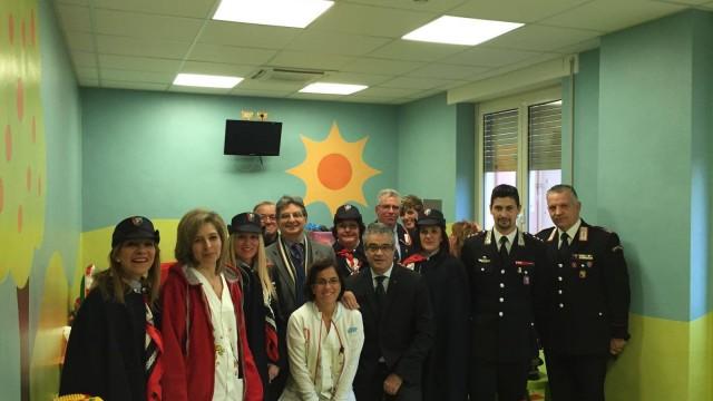 Carabinieri Tivoli e ANC insieme per il carnevale dei bambini ricoverati