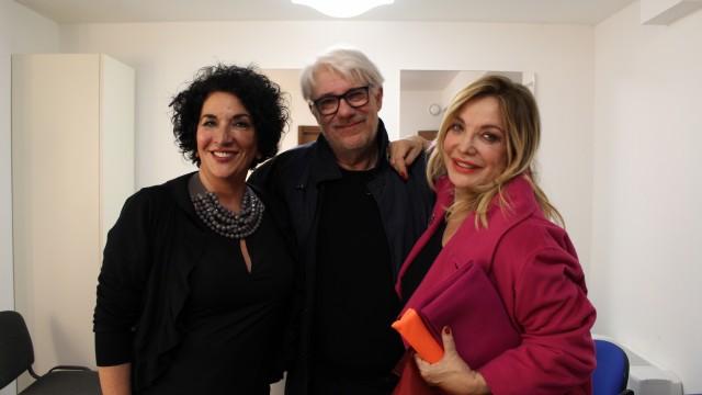 Intervista a Simona Izzo e Ricky Tognazzi
