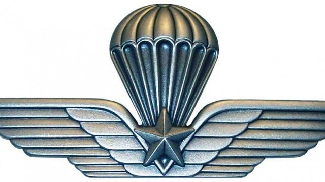 """""""Passaggio del paracadute"""" all'11° corso dell'ANPd'I Guidonia, presente anche l'ultimo reduce di El Alamein"""