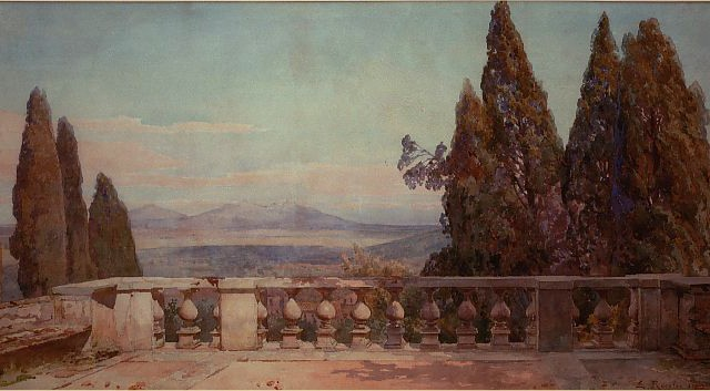 L'artista che fece conoscere Tivoli nell'800. Sulla strada di Pomata, restaurata la stele a Ettore Roesler Franz