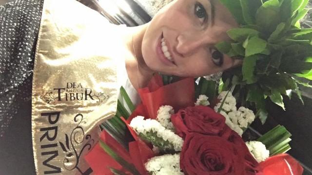 La Dea Antica Tibur 2016 è Laura Del Vescovo