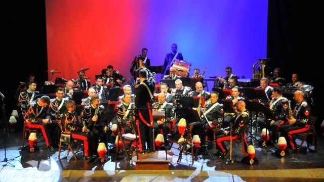 Concerto di Beneficenza della Fanfara dei Carabinieri a Tivoli, presente il Sottosegretario di Stato alla Difesa On. Domenico Rossi