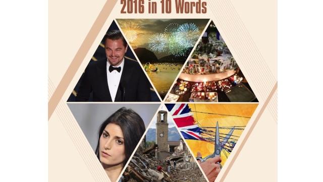 Il 2016 in 10 parole chiave