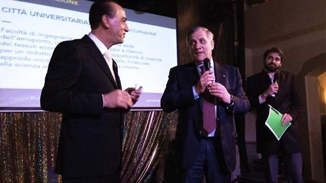 Tajani presidente dell'Europarlamento e quel filo con Guidonia Montecelio