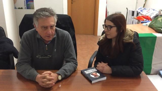 """Adinolfi presenta il libro """"Io fascista ricercato"""" a Guidonia"""