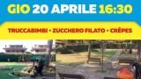 """Taglio del nastro per il nuovo parco di Campolimpido """"Cavaliere Umberto Paglia"""""""