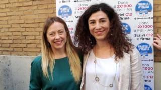 """La candidata sindaco del centrodestra guidoniano, Arianna Cacioni, aderisce al """"Patto per le Città"""" di Giorgia Meloni"""
