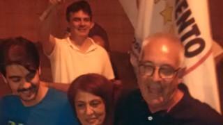 Michel Barbet nuovo sindaco di Guidonia Montecelio, festa in piazza Matteotti