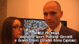 L'assessore Daniele Frongia presenta il Rally di Roma