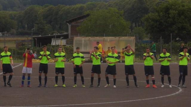 Gubinelli gol pazzesco. Guidonia, pari a Poggio Fidoni