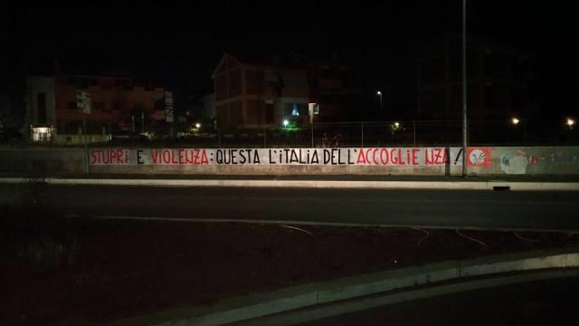 """""""Stupri e violenza: questa l'Italia dell'accoglienza"""". Il messaggio di protesta parte da Guidonia Montecelio"""