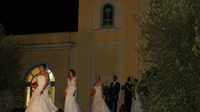 Il fascino intramontabile del matrimonio, una sfilata in grande stile alle Terme di Roma