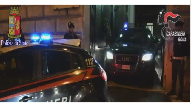 Video Arresto rapinatori banca di Tivoli