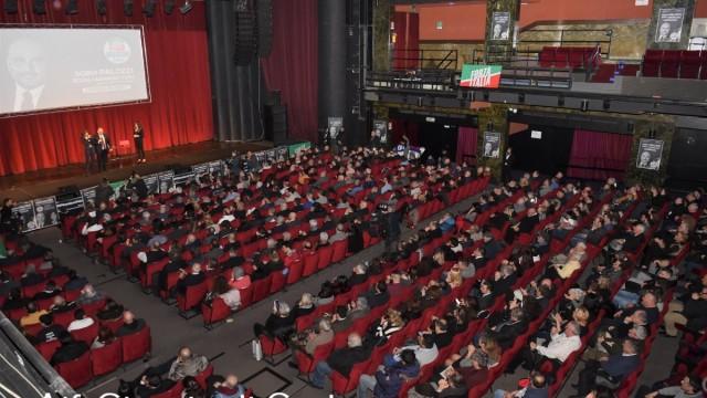 """""""Il Teatro Brancaccio pieno, una grande emozione"""""""