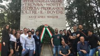Alessandro Guidoni, una giornata speciale