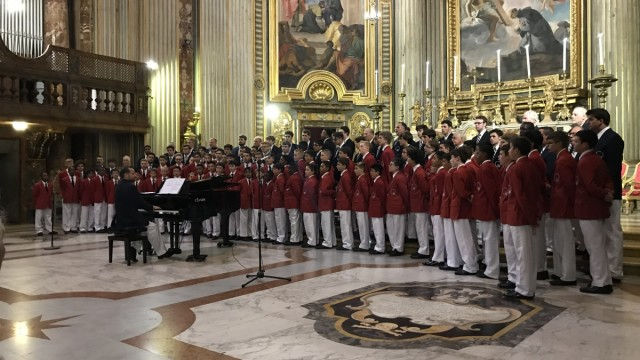 "La ""Philadelphia Boys Choir And Chorale"" incanta a Roma con il coro Francesco Mannelli di Tivoli"