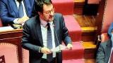 """Salvini: """"Basta trattare gli italiani come bambini dell'asilo"""""""