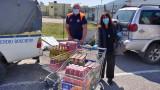 I numeri della distribuzione dei pacchi alimentari a Tivoli