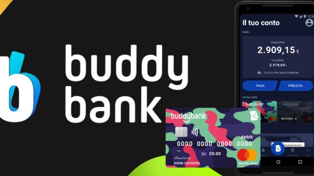 BuddyBank, la carta che ti regala 40€