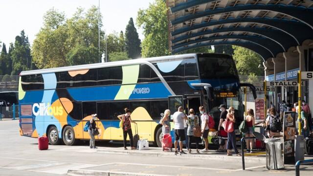 Roma, i bus turistici per potenziare il trasporto pubblico anti- Covid