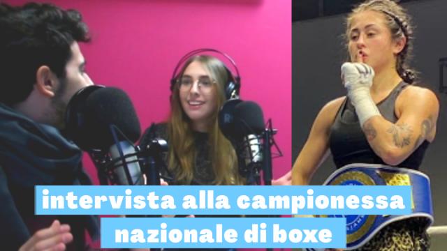intervista alla campionessa nazionale di boxe – Maria Cecchi