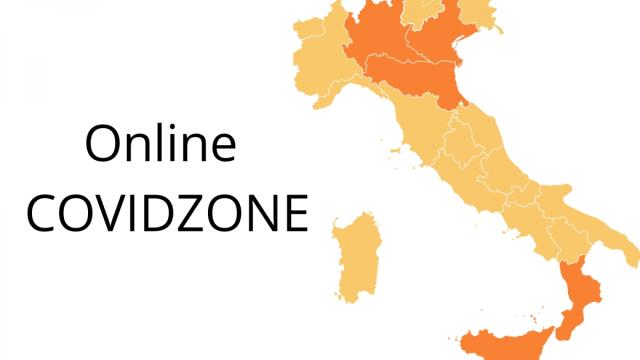 COVIDZONE, informazioni sul colore delle regioni