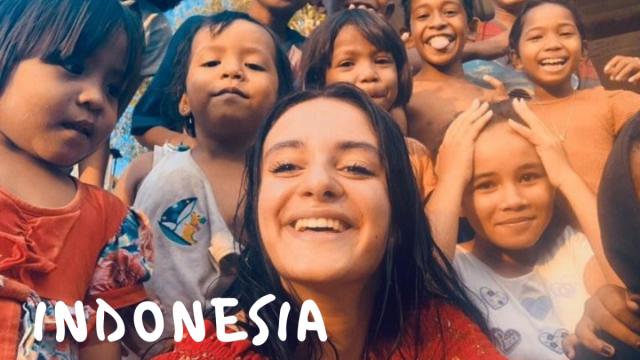 Partita a 19 anni in Indonesia