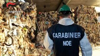 Rifiuti, maxi operazione dei Carabinieri del NOE di Milano