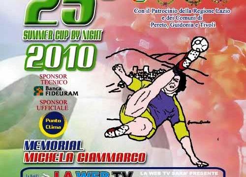 25° Torneo Memorial Michela Giammarco
