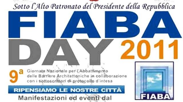 Fiaba Day 2011. Nona Giornata Nazionale Per L'Abbattimento Delle Barriere Architettoniche.
