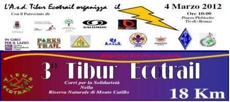 3° Tibur Ecotrail – 4 Marzo 2012