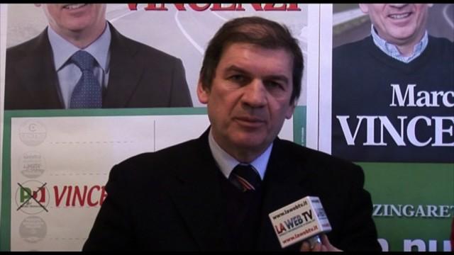 MESSAGGIO ELETTORALE DEL CANDIDATO MARCO VINCENZI (REGIONALI LAZIO 2013)